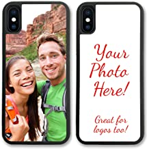 iPhone Xs MAX, Simply Customized Photo Phone Case Compatible with iPhone Xs MAX [6.1 inch] Personalized Your Picture or Image Printed On The Case Protective Case IPXSM