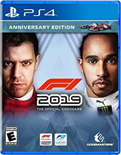 F1 2019 Anniversary Edition - PS4 - PlayStation 4