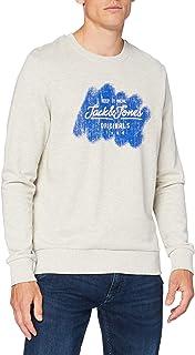 Jack & Jones Men's Jortorino Sweat Crew Neck Fst Sweatshirt