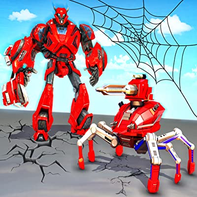 Spider Robot Action Game