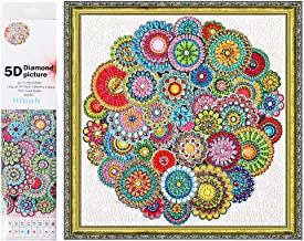 Sponsored Ad - Diamond Painting DIY 5D Special Shaped Rhinestones, Mandala Flower, Full Diamond Crystal Diamond Painting C...