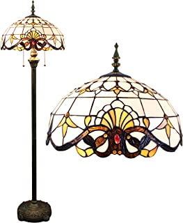 Lampe Gweat 16-Pouce Baroque Européenne Tiffany Lampadaire Salon