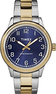 Timex Mens Quartz Watch, Analog Display and Stainless Steel Strap TW2R36600