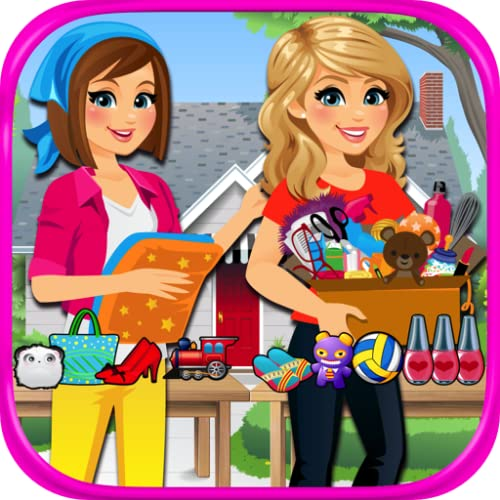 『Supermarket Yard Sale - Garage Sale Shoppers and Bargain Hunters FREE』のトップ画像