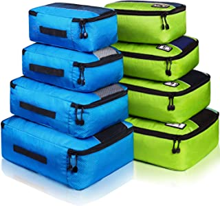 Packing Cubes Set Travel Luggage Bags Organizer Durable Travel Accessories