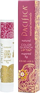 Pacifica Beauty Color Quench Natural Lip Tint, Sugared Fig, 0.15 Ounce