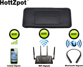 HOTTZPOT Cell Phone Signal Booster Kit for Better Service Reception, Bluetooth Connectivity, WiFi Extender - Portable & Universal for All Phones and Service Providers 3G 4G LTE 5G KIT