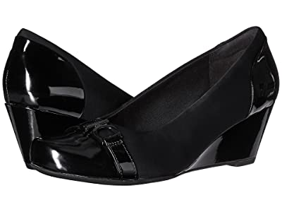 Clarks Flores Poppy (Black Combo) Women
