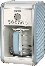 Ariete 1342 1342BL 12-kop koffiezetapparaat vintage, 2000 W, blauw, kunststof, 2,1 liter