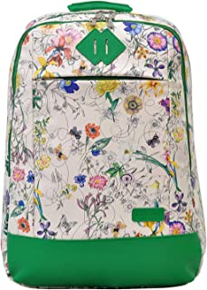 FUSION GARDEN WHITE BACKPACK 18 INCH