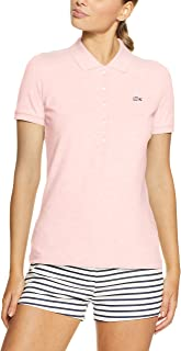 Lacoste Women 5 Button Slim Stretch Core Polo