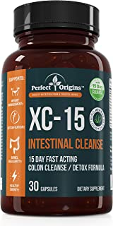 Perfect Origins XC-15 for Healthy Weight Loss, Colon Cleanse Detox, Energy Level Boost