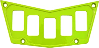 STVMotorsports Custom Aluminum Dash Panel for Polaris RZR XP 900 800 S570 with 5 Switch Slots (no switches Included) (Lime)
