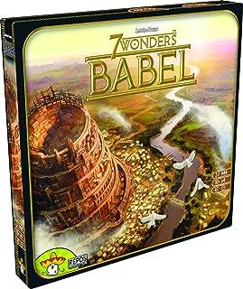 Asmodee 7 Wonders – babel, förlängning, finsmakarspel, strategispel, tyska