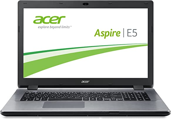 Acer Aspire E5-771-30A7 43 9 cm  17 3 Zoll  Laptop  Intel Core i3 4030U  1 9GHz  4GB RAM  1000GB HDD  Intel HD 4400  DVD  Win 8 1  silber