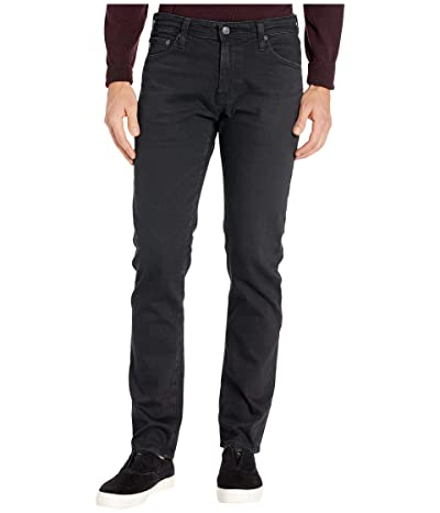 AG Adriano Goldschmied Tellis Modern Slim Leg Jeans in 7 Years Pure Black (7 Years Pure Black) Men