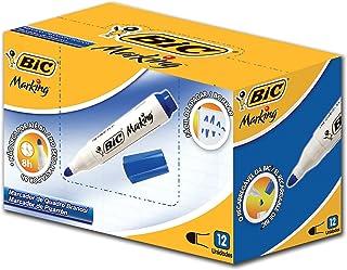 Marcador de Quadro BIC, Azul, pacote de 12