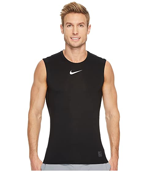 e2623de7 Nike Pro Fitted Sleeveless Training Top at Zappos.com
