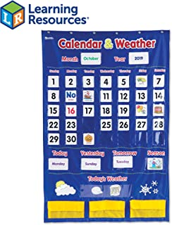 calendar for preschool classroom