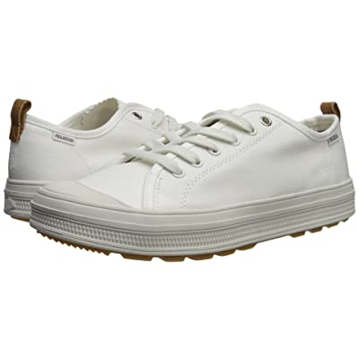 Palladium SUB Low CVS (White/Lily White) Men