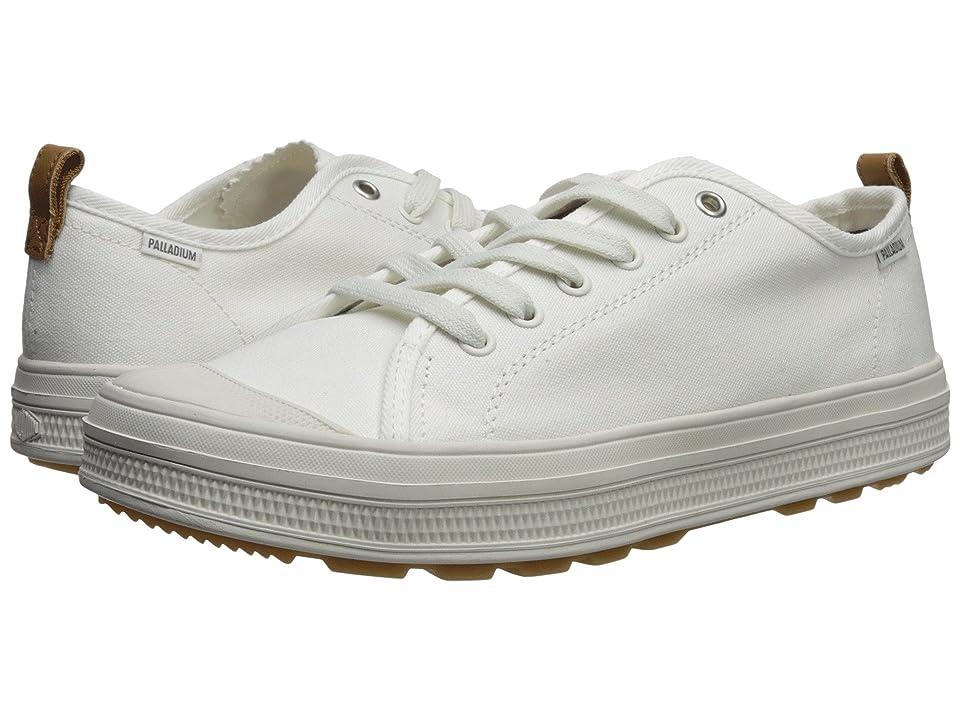 Palladium SUB Low CVS (White/Lily White) Men