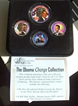 PRESIDENT OBAMA FIRST TERM COMMEMORATIVE COINS SET OF 4