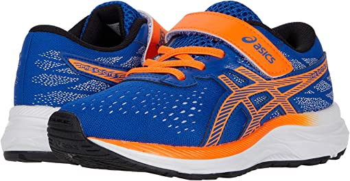 Asics Blue/Shocking Orange