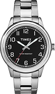 Men's Heritage Black Dial with a Stainless Steel Bracelet Watch TW2R36700