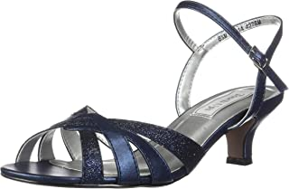 navy sandals for a wedding