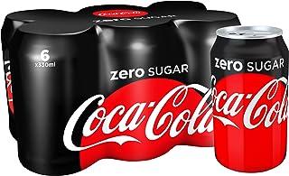 Coca-Cola Zero Sugar, 330 ml, Pack of 6