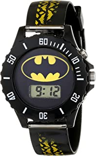 Batman Kids' BAT4135 Digital Display Analog Quartz Black Watch