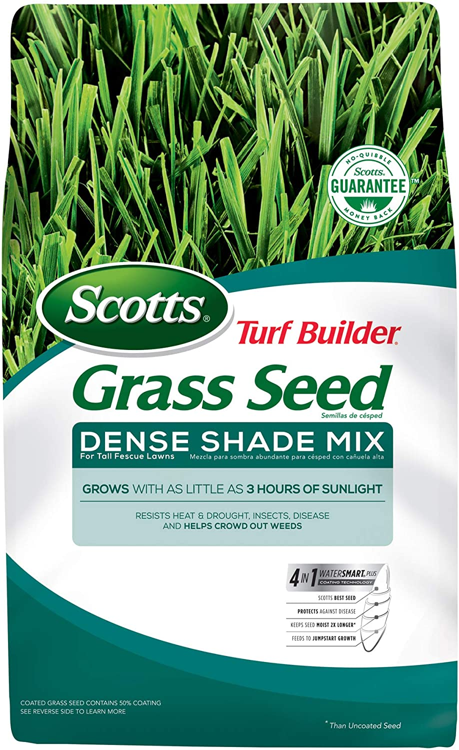 Brand new Scotts Turf National products Builder Grass Seed Dense Mix Tall for L Shade Fescue