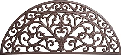 Cast Iron Made Antiqued Rust Finish W68, 5xDP32xH1 .5 cm Sized Doormat
