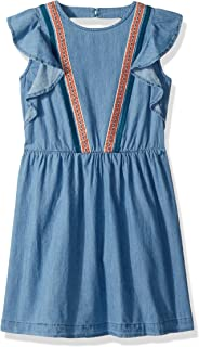 Lucky Brand Girls' Sleevless Denim Dress