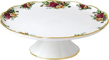 Multi Fine Bone China Platter Royal Albert Old Country Roses IOLCOR00109 Oval Dish 33cm White