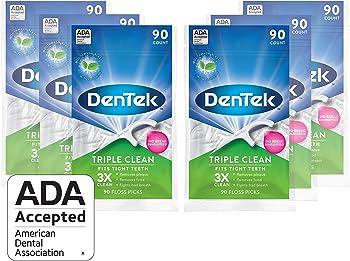 6-Pack DenTek Triple Clean Floss Picks