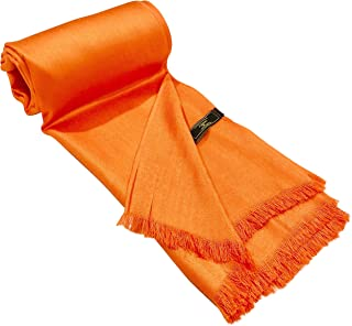 Solid Color Design Fringe Shawl Scarf Wrap Stole Throw Pashmina Pashminas CJ Apparel NEW