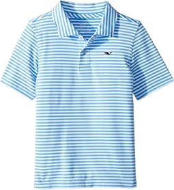 Winstead Stripe SNKTY Perf Polo (Toddler/Little Kids/Big Kids)