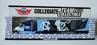 White Rose 2001 COLLEGIATE Team Collectible 1:80 Scale Diecast Tractor Trailer UNIVERSITY OF NORTH CAROLINA TAR HEELS