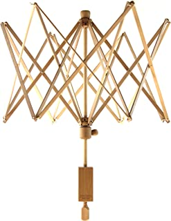 Stanwood Needlecraft Wooden Umbrella Swift Yarn Winder, Large