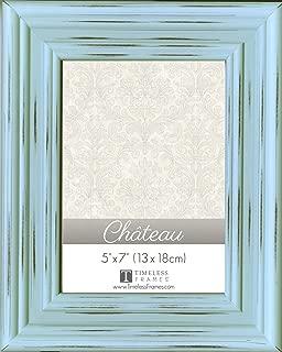TIMELESS FRAMES INC. 41520 5X7 Frame Chateau DISTR Light Blue