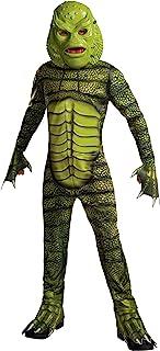أزياء وإكسسوارات روبيز التنكرية للأطفال - مخلوق الوحوش من زي بلاك لاجون (عبوة من قطعة واحدة) As Shown Medium