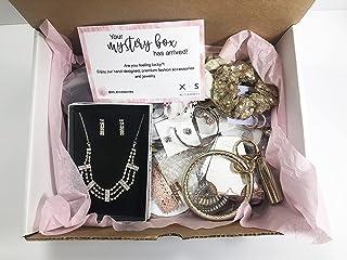 ملحقات المجوهرات صندوق غامض هدايا الشعر اليسار من مخزون هدايا مفاجئة عصرية للنساء والفتيات منتجات فاخرة