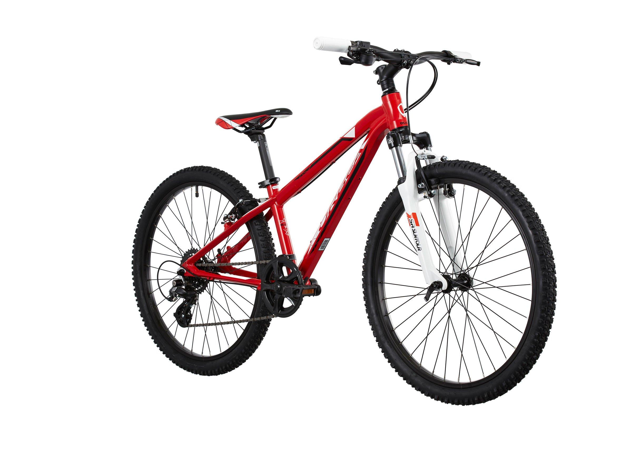 Bicicleta para niños ORBEA MX 24 XC rojo 2015: Amazon.es: Deportes ...