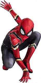 RONGANDHE Kids Superhero Bodysuit Halloween Cosplay Costumes Zentai 3D Style