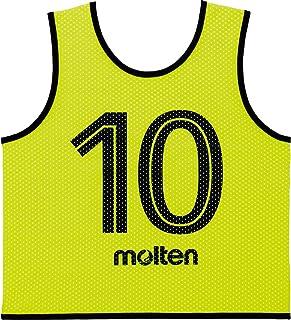 molten (摩腾) 游戏背心GV青少年 (2号~11号)10片套装 GS0112-KL 荧光柠檬味