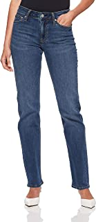 Calvin Klein Women's 031 Mid Rise Straight Fit Jean