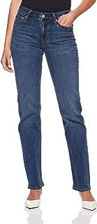 Calvin Klein Women's 031 Mid Rise Straight Fit Jean