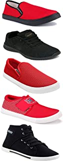 Shoefly Sports Running Shoes/Casual/Sneakers/Loafers Shoes for Men&Boys (Combo-(5)-1219-1221-1140-303-1169)
