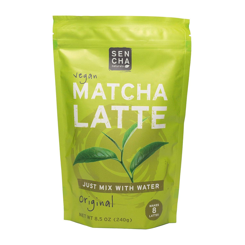 市販 SENCHA NATURALS Matcha Latte - 高級 Dairy-Free 8.5 Original Bag Oz